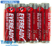 Батарейка солевая Energizer Eveready АА спайка 4 шт. R6 Heavy Duty