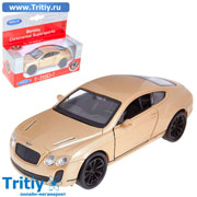 Модель машины Bentley Continental Supersports масштаб 1:34-39