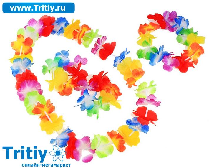 Как сделать своими руками цветки для гавайской вечеринки