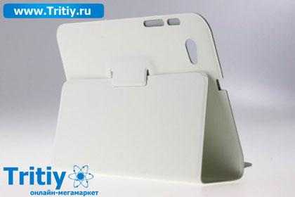 Чехол smart cover для samsung galaxy tab 7 7 p6810 и p6800 белый
