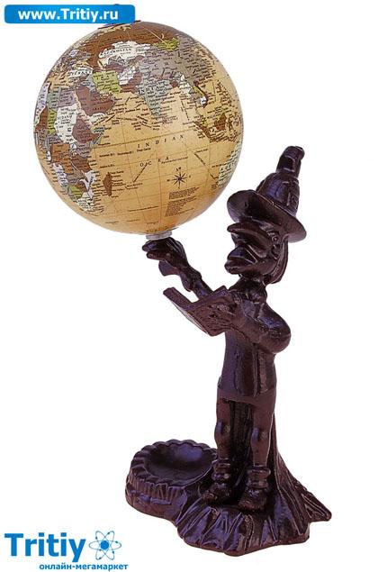 Глобус деревянный своими руками