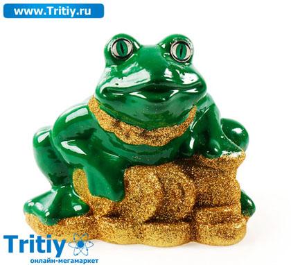Статуэтка жаба на монетах с чашей 16*18 см 288120, статуэтки, отзывы статуэтка жаба на монетах с чашей 16*18 см 288120